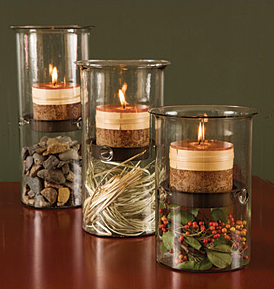 "Hurricane Candle Lamp - 10""-0"