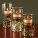 Hurricane Candle Lamp - Set of 3-0
