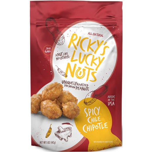 Ricky's Lucky Nuts Spicy Chile Chipotle-0