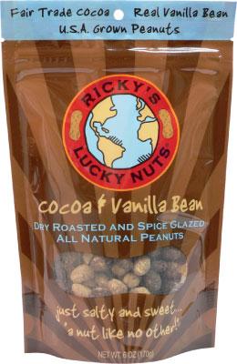 Ricky's Lucky Nuts Cocoa and Vanilla Bean-0