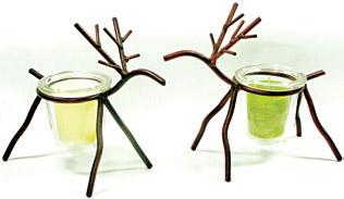 Deer Candle Holder-0