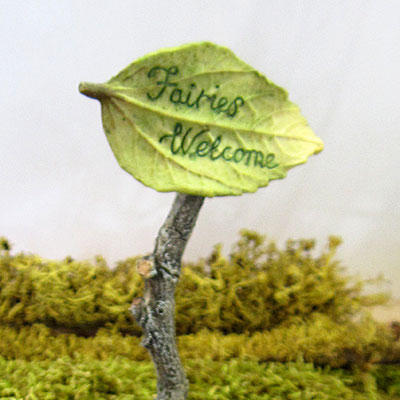 Fairies Welcome Sign-0