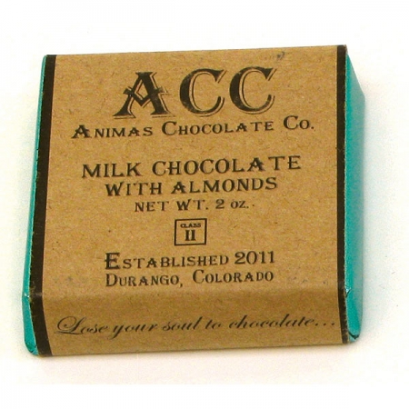 Animas Chocolate Company Milk Chocolate w/Almonds-0