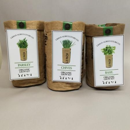 Herb and Flower Organic Grow Kits-0
