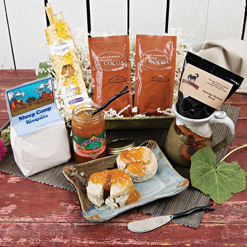 Dietz Market Durango Breakfast Basket
