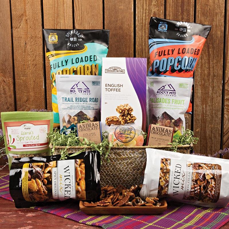 Dietz Market Super Snacker Basket