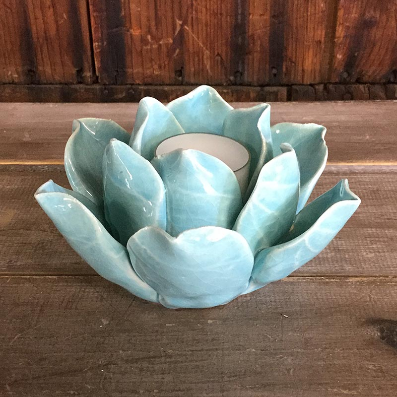 Lotus flower holder green dietz market lotus flower holder green mightylinksfo