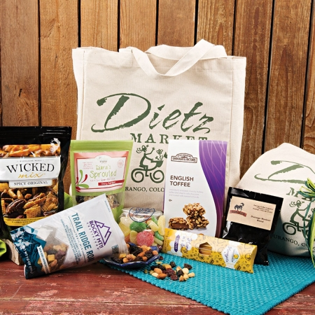 Dietz Market Party Tote Gift Basket