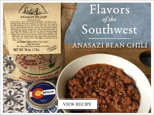 Anasazi Bean Chili Recipe