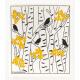 Swedish Dishcloth - Autumn Aspens