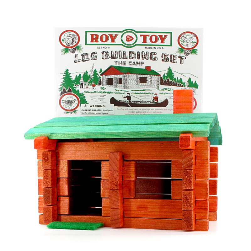 Log Building Set